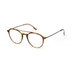 TOM // vintage havana w/gold - <p>Slim acetate and ultra flexible stainless steel combo frame</p>