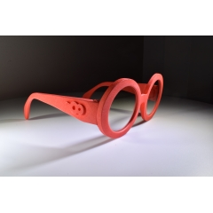 Retro Goggle - Timeless round frames.  Unisex styling that softens the face and is certainly one our most popular frames ever. Made in a variety of colors as well as high performance Black, Bullet Grey, White and Yellow.  Other frame and lens colors available upon request. High quality lens options. Light and comfortable with head turning style.