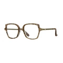 Style Rosis Zigolo - <p>An acetate frame made by hand, ennobled by the feathers inserted between the two sheets that compose it. The pearls on the temples ennoble the style, while the metal bridge gives it a shine.</p>