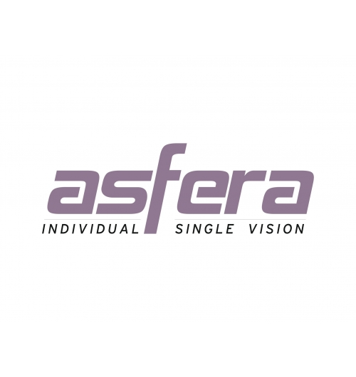 Asfera - Single Vision Freeform Lenses for Wider Single Vision Viewing Comfort Personalized and compensated Freeform that provides improved peripheral clarity by up to 30% in single vision prescriptions