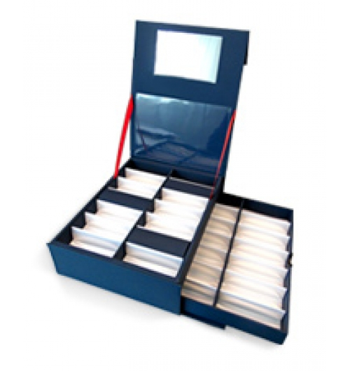 Presentation Boxes - <p>According to your needs and following the project of our client, we produce beautiful presentation boxes using different kinds of materials, colours, sizes, shapes etc. , but  also with  your logo, trade mark or whatever you might  want to be written on them. </p>