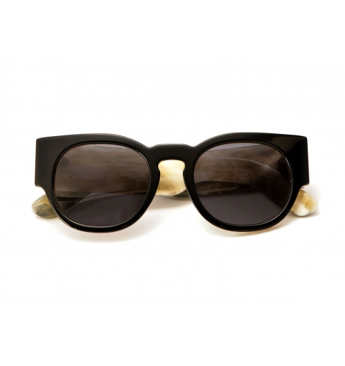Sunglasses - Tom Davies sunglasses are made from the highest quality materials in the world. Tom is extremely passionate about his sunglasses, and insists on using only the best acetate, pure titanium, Silver 925 and natural horn for each frame.   Each of our sunglasses have been inspired by some of Tom's favourite clients, and he is particularly interested in the individuality and personality of sunglasses.  All of our sunglasses are finished with the highest quality ZEISS sun lenses.