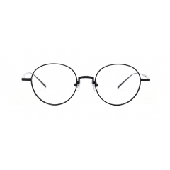 NEO - A simple, back-to-basics round-shaped optical frame created with metal. NEO is fitted with Beta Titanium temples, adding comfort to the eyewear and guaranteeing a perfect fit.