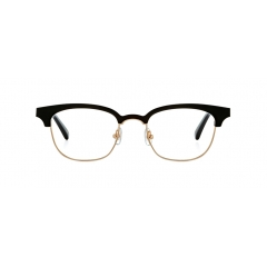 UNDER BILLOW - Acetate upper frame and metal line of bottom frame is combined together to give an unique style of semi-rimless design.
