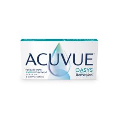 ACUVUE® OASYS with Transitions™ - ACUVUE® OASYS with Transitions™ Light Intelligent Technology™, the contact lens that knows the light.