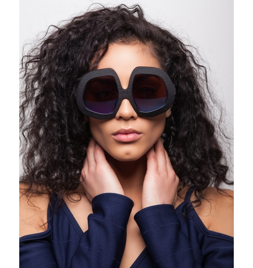 L'Orbitalli - Frame yourself in L'Orbitalli. Big Frames with a Throwback style that make a statement. Made in a variety of colors as well as high performance Black, Bullet Grey. High quality lens options. Light, comfortable, and head turning style. Made in the USA. Styled forever.