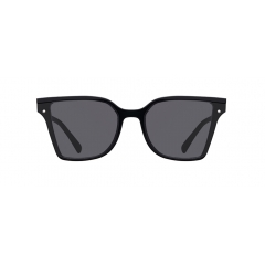 """TRUDY - These dramatic cat-eye sunglasses feature a sheer color of transparent acetate frame and tone-on-tone coloration  of lenses. Just like its name, """"TRUDY"""", the silhouette of these sunglasses creates lovable feminine vibe."""