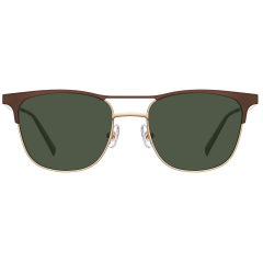 CRASH - These Wellington styled sunglasses are structured with a thin flat metal frame. The long flat brow bar is stretched out to the temples. This brow bar is separated, being highlighted with various coloration.   26g / STAINLESS STEEL