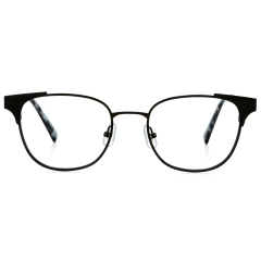 BURNETT - BURNETT features steel-wire rims, and thin-steel endpieces and temples. The special characteristics of BURNETT falls on its endpieces and temples, which are created by two pieces of thin steel.