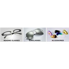 Plastic frames/Metal frames/Frames in other materials/Plastic sunglasses/Metal Sunglasses