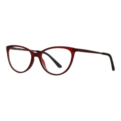 CF1804 C02  optical - <p>Ultra-light, state-of-the-art plastics for a perfect fit and trendy cat-eye shape. The satin-finish ton-sur-ton metal branches add a touch of elegance to a pair of glasses that is minimal, yet sophisticated.</p>