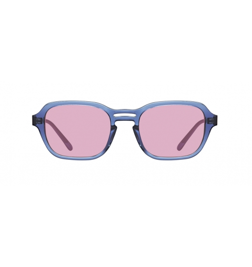 "SPELLBOUND - These full acetate sunglasses feature a square shape and double-lined short bridges. Just like its name, ""SPELLBOUND"" these unique details complete a charming outfit when they are worn."