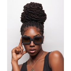 Boxframe - 1970s look hard edge styled unisex frame. Powerful and Bold lines throughout.  Made in a variety of colors as well as high performance Black, Bullet Grey. High quality lens options. Light, comfortable, and head turning style. Made in the USA. Styled forever.