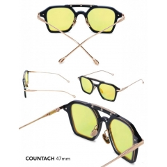 Countach - Boxy angles & technical curvature create an aire of modern timelessness. Double-brow, double aero, this lightweight combination construction frame is track ready. Ergonomically designed to fit most face shapes.