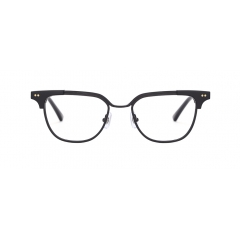 NEW JACK - With its unique angular style design, NEWJACK is a combination frame created with a 'line-on-line' concept: with the bridge and upper part of the frame being connected, no extra welding was required in its creation