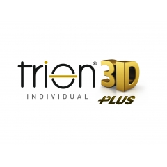 Trion 3D Plus - Trion 3D Plus Freeform Progressives provide personalized vision at all distances  Trion 3D Plus personal progressive provides three specific design preferences for the wearer by adding up to 30% additional viewing area without dramatically affecting the other areas of the lens.
