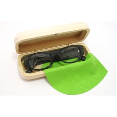 Recyclable natural wood eyewear case - <p>An example from a range showing our ability to create,to fit your needs</p>