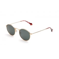EDEM - <p>Unisex sunglasses model, wonderfully sober that is characterized byits lightness. The clean design and the round shape guarantee an incomparable wearing and thanks to the nose pads, the fit is universal. Available in gold and silver, with end tips matched to the polarized lenses nuances (blue, brown, G15). It's a casual model, always elegant and trendy.</p>