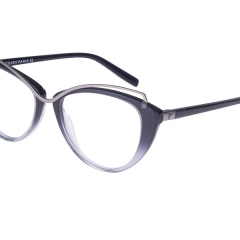 AZZARO AZ30278 - Very feminine cat-eye model in acetate and metal.