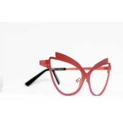 Cool Cat! - Shandeh design incorporates an added v-shape double-break accent on top of the frame to further exaggerate the cat-eye motif and pull up against the cheekbones, enhancing and even creating attractive and alluring lines of the face. Shandeh is available in seven colorful and contrasting color combinations including a bubble gum and hot pink, vintage turquoise with havana, and indigo blue.