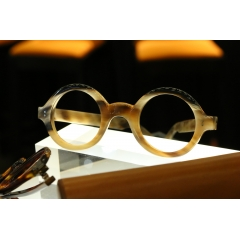 HORN - Horn spectacle frame individually handcrafted and  personally tailored and customized