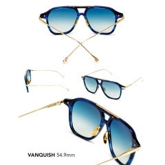 Vanquish - An elusive and exclusive variation of the aviator, the Vanquish is a modern frame with angular biometrics. This frame is defined by its strong, sexy lines, which will accentuate the jawbone as your sip your Martini…shaken, not stirred. Ergonomically designed to fit most unisex face shapes.