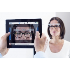 VISUREAL PORTABLE - visuReal+ makes each iPad a lightweight, mobile and highly accurate measurement tool for your store. The system takes measurements quickly and accurately. State-of-the-art software allows images and measurement data to be collected and calculated using cloud computing.