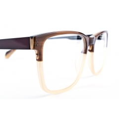 Bio-Acetate - Several of our latest models are made with bio acetate. Although the acetate used in our collection is 99% natural, it still contains 1% oil. Developed by Mazzuchelli, this new bio acetate is 100% natural and allows acetate to come from 100% natural resources, but also to be 100% biodegradable.