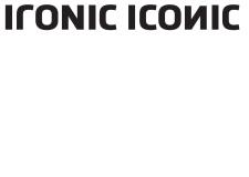 IRONIC ICONIC - FRANK CUSTOM, IRONIC ICONIC
