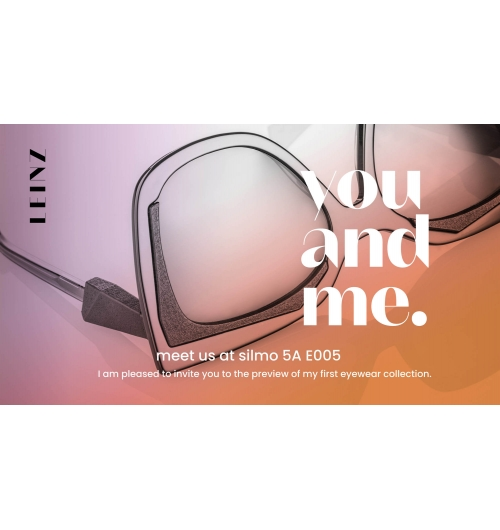 """LEINZ eyewear - Leinz eyewear is an independent new eyewear and sunglasses lable with distinctive design, personal but fashionable style. """"You and me, in love with Hybrids"""" combines traditional Italian craftsmanship with high-end Belgian technology, lenses from France and created in Berlin/Germany."""