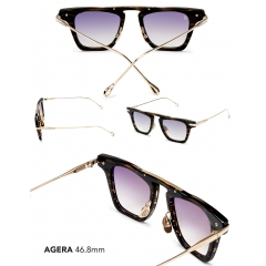 Agera - An ultra-progressive shape, the Agera emulates the culmination of innovation and fashion in luxury eyewear. Catch a breeze with a bridgeless nose design that is both balanced and edgy. Ergonomically designed to fit most unisex face shapes