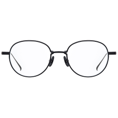 HIVE - This Aviator frame is composed of pure Titanium on the rims and Beta Titanium on the temples, being accented with a tiny space between lenses and its bridge. The design point of these tiny spaces enhances its uniqueness, and the combination of two metal materials allows this frame to be lighter.