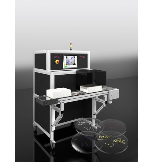 MATRIX - système d'impression pour verres progressifs