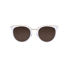 CREED - A round-shaped combination sunglasses frame created with a mix of metal and acetate, CREED exudes a sophisticated look through its metal upper rim and rivets affixed at the bridge, where the acetate and metal parts of the eyewear meet.