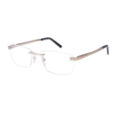 CHARRIOL PC75032 - Gold titanium rimless