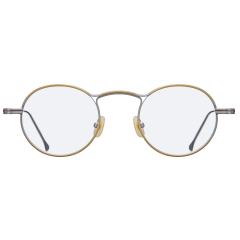 HOLLY - Round shaped optic with bridge positioned higher than other eyewear. Its high positioned bridge forms unique angular shape with two metal bars on top of each other, and gave layers on top and bottom of rims. Thicker upper rims feature STEALER's new design pattern to create a vintage look. Different color variations can be applied to top and bottom rims to make it even more unique.
