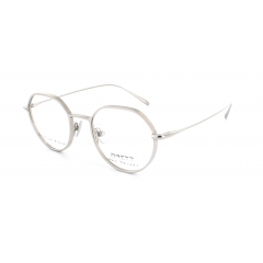 Artemus - This model takes inspiration from the Brett DNA brand. The very thin and thick sections bring  an elegant and raw style. This contrast is feasible thanks to the monobloc  titanium cutting.