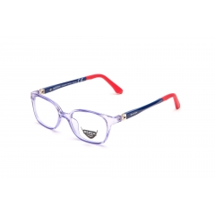 EJ13 - A unisex optical frame of the new collection ENOX JUNIOR, made in hypoallergenic acetate, very resistant and easy to adapt to the children's faces. The fine design, barely squared, is extremely comfortable and trendy. Available in 6 various colors, all combined with the transparencies of the front part and the bicolor temples having a special flex hinge with external 180° opening. The comfort and the child's needs are always put first.