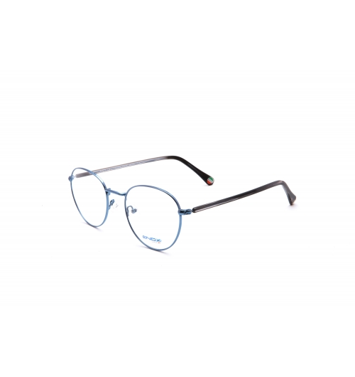 ET131 - A unisex model of the new collection ENOX TEENAGER, made in hypoallergenic metal with acetate temples and rounded design. It is available in 6 various colors, from light blue to aluminum, gold differently combined with the bridges and the colors of the temples. On the inside of the end tips the logo comes out in a small tricolor circle. Provided with nose pads that guarantee a universal fitting, they are spectacles to wear for absolute comfort and liveliness of the youngest.