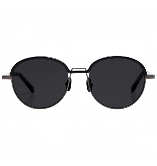 KEEN - Rim shape of BLK Edition KEEN optical version is also applied but enlarged the size of sunglasses version. Combination of Nickel base and black point color offers the new color variation for BLK Edition.   30g / STAINLESS STEEL