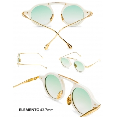 Elemento - An elite experiment of design and engineering, the Elemento is an advanced shape that is as radical as it is round. This shape has a bridgeless nose design that is both poised and state-of-the-art. This shape is more complementary to narrower unisex face shapes.