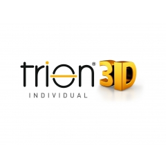 Trion 3D - Trion 3D Individual Freeform lenses are manufactured according to the wearers unique personal measurements specifically using interpupillary distance, pantoscopic, vertex and frame wrap angles.  Trion 3D Individual lenses use only the finest the FreeForm technology and are fabricated only with the wearers unique personal measurements with their desired frame. The result is a perfect adaption of all criteria and results in a harmonious relationship of visual clarity at all viewing angles.  Trion 3D Individual lenses are produced in six different corridor options (5, 7, 9,11,13,15 mm), that allows greater flexibility in fitting in frame designs of all shapes and sizes.  This design is perfected using design symmetry which eliminates image distortion which typically is an expressed concern by the progressive lens wearer.  Thanks to our MIDPOINT (Mdp) technology the wearer has more options of corridor length by their preferred and unecessary blur is removed from the design as appropriate.  Trion 3D Individual is ideal for all persons with various lifestyle demands.