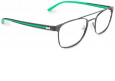 Krono - <p>With a stainless steel front and rubber temples, KRONO is designed for men who steer towards sport.</p> <p></p> <p>The indexed flex-hinge is an integral part of the frame design, in pure Oxibis tradition.</p> <p>The temples cleverly combine two types of overmoulded rubber: flexibility and comfort for the first which makes skin contact with the frame more pleasant; and a smooth, rigid appearance for the second to guarantee aesthetic and technical performance.</p> <p>In terms of shades, KRONO is a two-colour affair with a line of lacquer along the edge of the front or hinge. This lacquer matches the colour of the rubber for a sportswear feel, or subtly enlivens understated temples and frames.</p> <p>An additional feature on some fronts, slight bevelling at the outer corner of the eye replicates the dynamic line of the temples.</p> <p>KRONO is available in 5 metal shapes: 2 semi-rimless and 3 rimmed, each available in 5 colours.</p> <p>Colours available: black, red, grey, charcoal grey, blue, brown</p>
