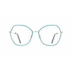 """Re-Master - Lamè - A capsule collection of ultra-feminine and ultra chic metal frames that replicate the famous """"lamé"""" fabric by interweaving silver or gold-plated metal threads."""