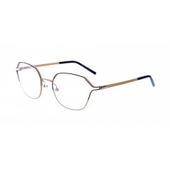 The Lightec Collection - 30174 - Under the Lightec collection, the Morel designers take fashion and the latest innovations and reinvented them in glasses with minimalist and intelligent designs.   The exercise has been particularly successful in this new concept, which manages to combine intriguing construction, clean lines and a play on colors: the result of Morel know-how.  If you take the time to look closely at the frame design, you will indeed notice that there is more to them than you thought. The delicate front reveals an open work structure, thanks to the inverted Nylor assembly. The lens is thus topped by a two-color browbar that gently illuminates the eyes.   Morel has selected stainless steel for the front and temples. A classic of the Lightec collection, which combines flexibility and lightness.