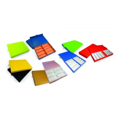 COLOURFUL TRAYS
