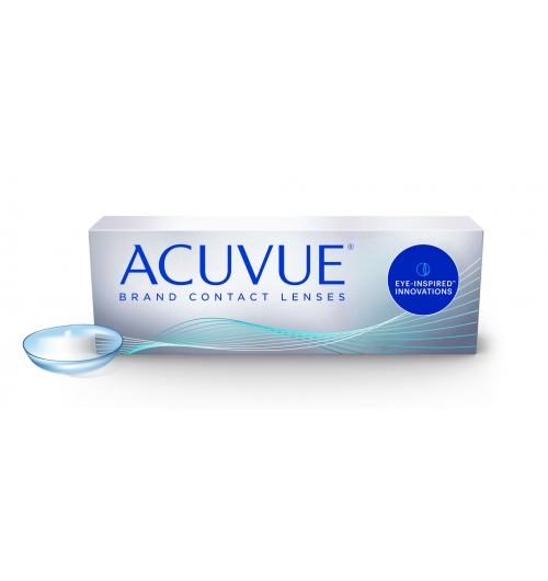 ACUVUE® - Daily disposable or reusable brand contact lenses