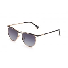 DYLAN - <p>Metal sunglasses model for men, with a refined round shape design. Enriched by a unique ciliary and topped by a double bridge, it's a model with a strong and original nature. It's available in gold, silver, bronze and black/gold, with mirrored or shaded lenses, all rigorously polarized. It's the accessory for whom want a well-defined look, without giving up the comfort.</p>