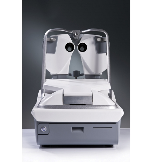 Eye Refract - Eye Refract has a dual aberrometer that combines automatic refraction measurement and simultaneous iterative glass adjustment with unique and innovative technology. This instrument revolutionizes the practice of refraction by offering fast, precise and reliable measurements. Eye Refract allows eye health professionals to establish an optical prescription of irreproachable reliability and to offer your clients a more personalized experience. The Eye Refract is sold as a package with the VX22 test display, the VX40 and the VXBOX II communication interface.