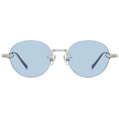 EDIT - These simple shapes of rimless sunglasses showcase a great design balance between sheer colored tint lenses and slivery matt metal of bridges and temple. The angled bridge structurally contact two lenses, well. These classic but contemporary sunglasses can be a trendy and fashion icon.   17g / STAINLESS STEEL